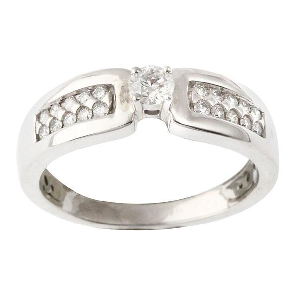Bague Diamants et Or Blanc