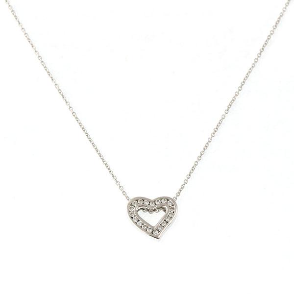 Pendentif Diamants, Or Blanc, Cha